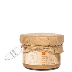 Miazga fistaszkowa o smaku słonego karmelu 200g Orzechownia